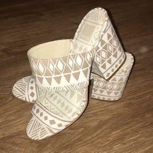 Dolce Vita Aztec Slide Heels